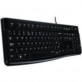 LOGITECH Corded  Keyboard K120 - Business EMEA - Bulgarian layout - BLACK
