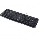 LOGITECH Corded Keyboard K120 - EER - US International layout