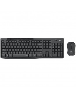 LOGITECH MK295 Silent Wireless Combo - GRAPHITE - US INT'L - 2.4GHZ  - INTNL