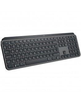 LOGITECH MX Keys Advanced Wireless Illuminated Keyboard - GRAPHITE - US INT'L - 2.4GHZ/BT - N/A - INTNL