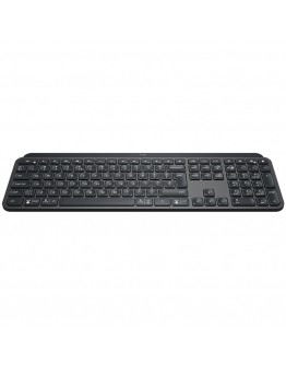 LOGITECH MX Keys Plus Advanced Wireless Illuminated Keyboard with Palm Rest-GRAPHITE-US INT'L-2.4GHZ