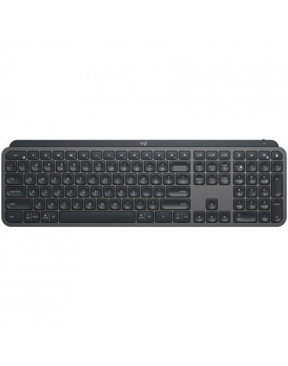 LOGITECH MX Keys for Mac Advanced Wireless Illuminated Keyboard - SPACE GREY - US INT'L - 2.4GHZ/BT - EMEA