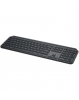 LOGITECH MX Keys for Mac Advanced Wireless Illuminated Keyboard - SPACE GREY - US INT'L - 2.4GHZ/BT - EMEA