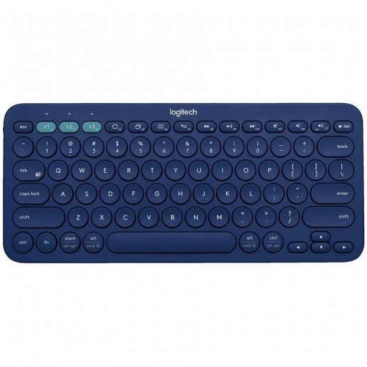 LOGITECH Wireless Multi-Device Keyboard K380 – INTNL – UK Layout – BLUE