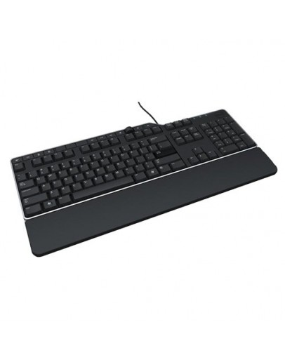 US/Euro (QWERTY) Dell KB-522 Wired Business Multimedia USB Keyboard Black