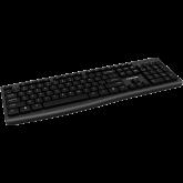 Wireless Chocolate Standard Keyboard  ,105 keys, slim  design with chocolate key caps,black ,Size34.2*145.4*27.2mm,440g BG layout