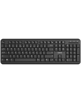 Wireless keyboard with Silent switches ,105 keys,black,Size 442*142*17.5mm,460g,BG layout