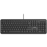 wired keyboard with Silent switches ,105 keys,black, 1.5 Meters cable length,Size 442*142*17.5mm,460g,BG layout