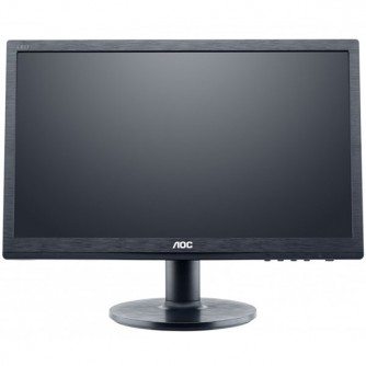 "AOC LED Monitor 19.53"", 1920x1080@60Hz, 3000:1(CR), 20000000:1(DCR), 7ms, VGA,DVI,2X2W Speakers) Black"