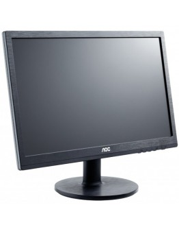 "AOC LED Monitor 19.53"", 1920x1080@60Hz, 3000:1(CR), 20000000:1(DCR), 7ms, VGA,DVI,2X2W Speakers) Black"