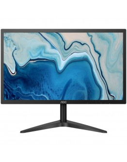 AOC Monitor LED 22B1HS (21,5'' WLED IPS Panel, 1920x1080, 5ms, 250cd/m2, 1000:1, 178º / 178º, VGA, HDMI), Black, 3Y