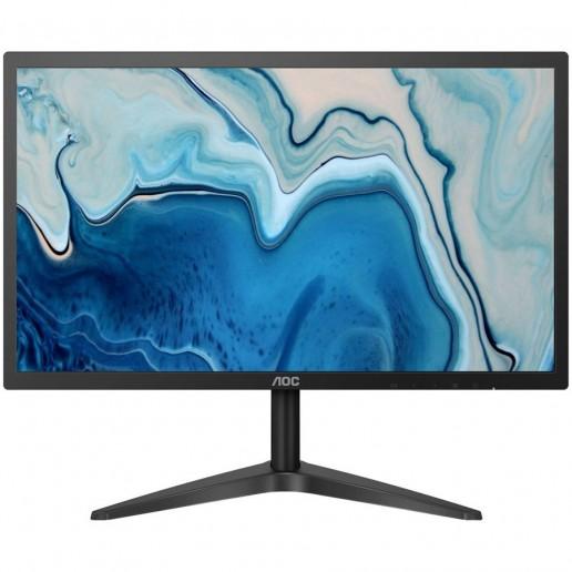 AOC Monitor LED 22B1HS (21,5 WLED IPS Panel, 1920x1080, 5ms, 250cd/m2, 1000:1, 178º / 178º, VGA, HDMI), Black, 3Y