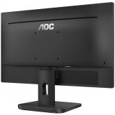 "AOC Monitor LED 22E1D (21.5"", 16:9, 1920x1080, 20M:1, 1000:1, 250 cd/m2, 2ms, VGA, DVI, HDMI, Audio out, Speakers, Tilt, Vesa) Black, 3y"