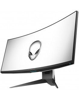 "Alienware 34 Curved Gaming Monitor AW3418DW, NVIDIA G-SYNC, 34"" WQHD 3440 x 1440 IPS 21:9, 4 ms (gray-to-gray), 300 cd/m², 1000:1, 16.7 million colors, 178/178, HDMI, DisplayPort, USB 3.0 hub, Tilt, Swivel, Height-Adgustment, 3Y NBD"