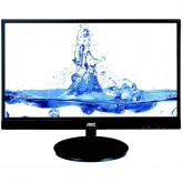 Aoc monitor led I2369VM (58.4cm - 23, IPS WLED, 1920x1080, 20000000:1 DCR, 16:9,  178°/178° , 6ms, VGA, 2 x HDMI,display port, -5°~-15° Tilt, 250 cd, speakers, VESA 75 mm, MHL interface Android mobile devices , silver)