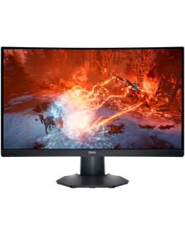 "DELL Monitor LED Gaming Curved S2422HG, 23.6"", 1920x1080 @ 165Hz, 16:9, VA, 3000:1, 1ms MPRT / 4ms GtG, 350 cd/m2, 2xHDMI, 1x DP, HAS 100mm, Tilt VESA, Black, 3y"