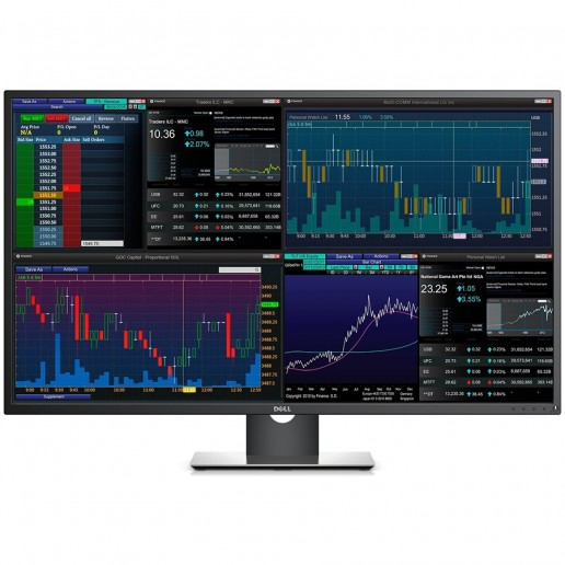 DELL Professional P4317Q 42.51 Multi-Client, 3840 x 2160, UHD 4K, IPS Antiglare, 16:9, 1000:1, 350cd/m2, 8ms, 178/178, DP, Mini DP, 2x HDMI, VGA, 5xUSB3.0, RS232, Headphone out, 2x 8W Speakers, Tilt, 3Y