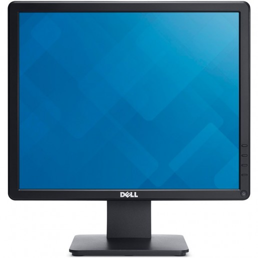 Dell 17 Monitor - E1715S - 43cm (17), 5:4, TN (Twisted Nematic), anti glare, 1280 x 1024 at 60 Hz, 1000: 1, 250 cd/m2, 160° vertical / 170° horizontal, 16.7 million colors, VGA, Black EUR, 3 years warranty