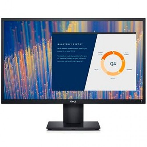 """Dell 23.8"""" Monitor E2421HN, 1920x1080 60 Hz 16:9 IPS Anti-Glare, 250 cd/m² (typical), 250 cd/m² (typical), Color depth: 16.7 Million, 1000:1 (typical), 178°/178°, 8 ms typical (Normal) 5 ms typical (gray to gray), 1 x VGA, 1 x HDMI 1.4, 3Y NBD"""