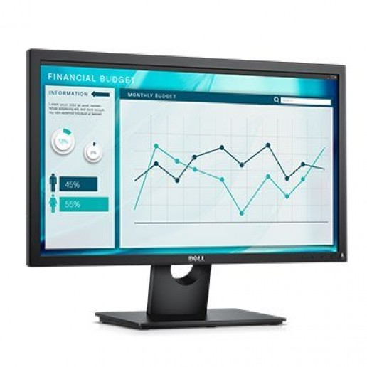 Monitor DELL E-series E2318H 23, 1920 x 1080, FHD, IPS Antiglare, 16:9, 1000:1, 250cd/m2, 8ms/5ms, 178/178, VGA, DisplayPort, Tilt, 3Y (210-AMKX)