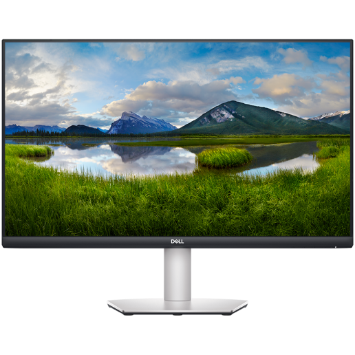 """Monitor DELL S-series S2721D 27"""", 2560x1440, QHD, IPS Antiglare, 16:9, 1000:1, 350 cd/m2, AMD FreeSync, 4ms, 178°/178°, DP, 2x HDMI, Audio line out, Speakers, Tilt, 3Y"""