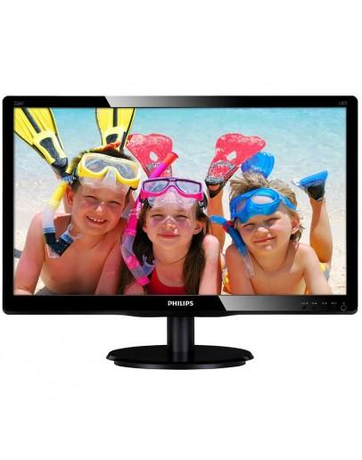 Monitor LCD PHILIPS 226V4LSB/00 (21.5, 1920x1080, LED Backlight, 1000:1, 10000000:1(DCR), 170/160, 5ms, DVI/VGA) Black