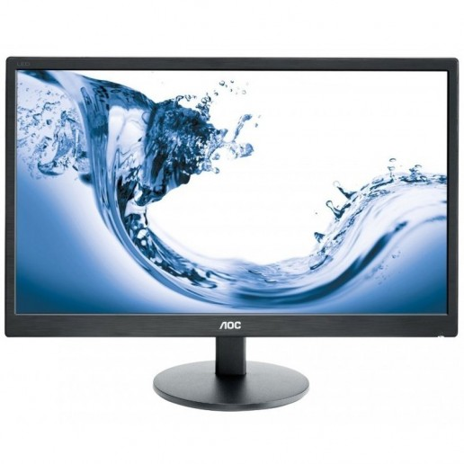Monitor LED AOC Value-Line E2770SH (27, TN, 16:9, 1920x1080, 1ms, 20M:1,  170/160, 300 cd/m2, VGA, DVI, HDMI, Speakers, VESA) Black