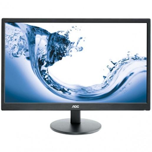 Monitor LED AOC Value-Line E2770SHE (27, TN, 16:9, 1920x1080, 5ms, 20M:1, 170/160, 300 cd/m2, VGA, HDMIx2, VESA) Black