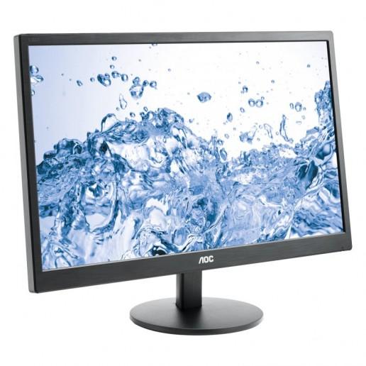 Monitor LED AOC Value-line P2370SD 23, 1920x1080, 16:9, PLS, 1000:1, 178/178, 7ms, 250 cd/m2, VESA, VGA, DVI, Black