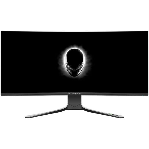 """Monitor LED Alienware AW3821DW 37.5"""" Curved, Fast IPS, AG, 3840 x 1600 144 Hz, NVIDIA G-Sync Ultimate, 21:9, 450 cd/m², 1000:1, 1ms (g to g), 1.07b colours, tilt: -5° to 21°, Swivel: -20° to 20°, Height: 130mm, 178/178, 3Y Warr"""