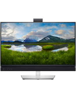 """Monitor LED DELL Video Conferencing C2722DE, 27"""", 2560x1440, 16:9, IPS, 1000:1, 178/178, 5ms, 350cd/m2, DP, HDMI, RJ-45, USB-C, Built-in speakers and webcam, 3Y"""