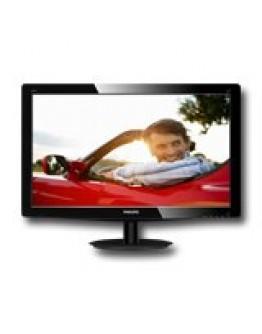 "Monitor LED PHILIPS 196V3LSB25/00 (18.5"", 1366x768, 600:1, 10000000:1(DCR), 170/160, 5ms, DVI/VGA) Black"