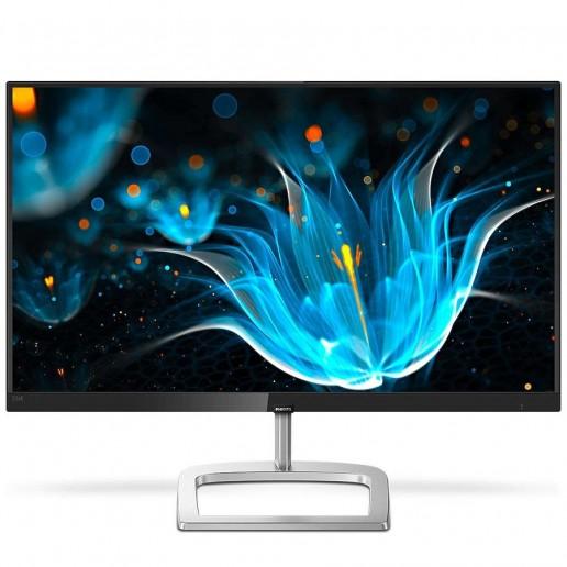 Monitor LED Philips 226E9QHAB/00, E-line, 21.5 1920x1080@60Hz, 16:9, IPS , 5ms, 250nits, Speakers 3W, Black/Silver , 2 Years, VESA75x75mm/VGA/HDMI/