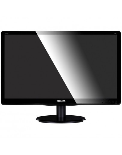 Monitor LED Philips 246V5LSB/00, V-line, 24 1920x1080@60Hz, 16:9, TN, 5ms, 250nits,  Black, 3 Years, VESA100x100/VGA/DVI