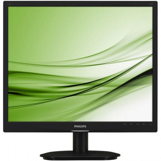 Philips 19 TFT 1280x1024 SXGA 5:4 5ms 250cd/m2 20 000 000:1 DVI, TCO 5.2, VESA, Piano Black
