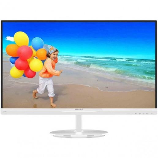 Philips 27 274E5QHAW/00 - IPS LED - White, 1920x1080, 5ms, DSUB-HDMI, Speaker
