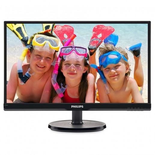 Philips LCD monitor 226V6QSB6 V Line 22 (21.5 / 54.6 cm diag.) Full HD (1920 x 1080) IPS, WLED, 178/178 vga, DVI