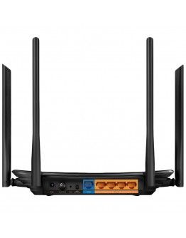 AC1200 Dual-Band Wi-Fi Router, 867Mbps at 5GHz + 300Mbps at 2.4GHz,  5 Gigabit Ports, 4  antennas, Beamforming, MU-MIMO,  IPTV, Access Point Mode, VPN Server, IPv6 Ready, Tether App