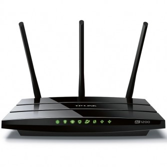 AC1200 Dual Band Wireless Gigabit Router, 867Mbps at 5GHz + 300Mbps at 2.4GHz, 802.11ac/a/b/g/n, 1x10/100/1000M WAN +4x10/100/1000M LAN, 1xUSB 2.0, 3х Ext Antennas