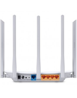 AC1350 Dual Band Wireless Router, 867Mbps at 5GHz + 450Mbps at 2.4GHz, 802.11ac/a/b/g/n,4-port LAN , 3x 2.4HGz External Antennas; 2x5GHz External Antennas