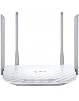 Router TP-Link AC1200 Dual-Band Wi-Fi Router, 802.11ac/a/b/g/n, 867Mbps at 5GHz + 300Mbps at 2.4GHz, 5 10/100M Ports, 4 fixed antennas, WPS, IPv6 Ready, Tether App