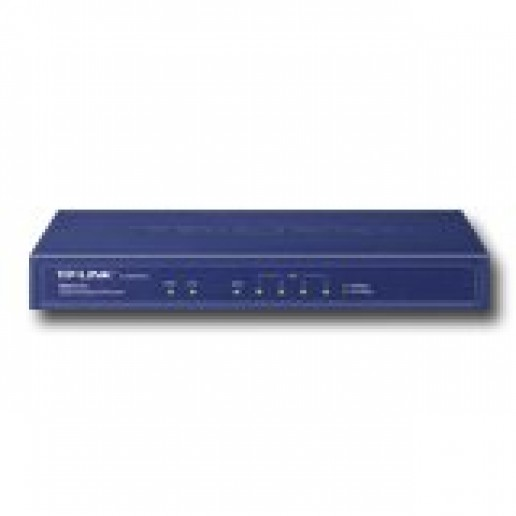VPN Router TP-Link, 1 Gigabit  WAN port + 4 Gigabit LAN ports,20 IPsec VPN Tunnels,16 PPTP and L2TP VPN tunnels,Dial-on-demand,SPI Firewall,IP&MAC Binding,Bandwidth Control,Parental control,DDNS,UPnP,802.1X,DHCP,DMZ host,10000 Concurrent Sessions