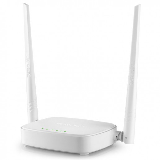 Wireless Router N301, 300Mbps, 2x5dbi fixed antennas, 1x10/100Mbps WAN Port, 3x10/100Mbps LAN ports; 2.4GHZ, DHCP, PPPoE, Static IP, PPTP, L2TP, WPS, WISP, Universal Repeater
